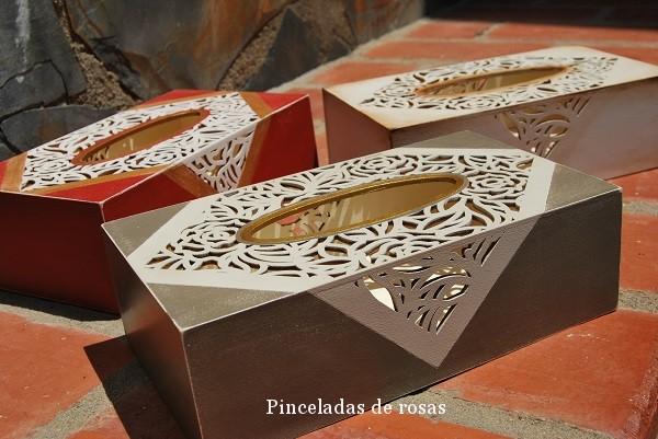 Cajas para kleenex con enacajes (3)