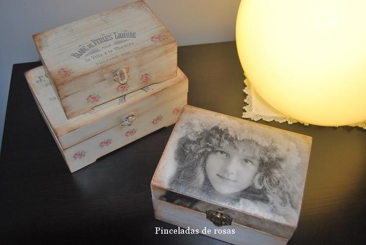 Cajas Vintage con transferencias (14)