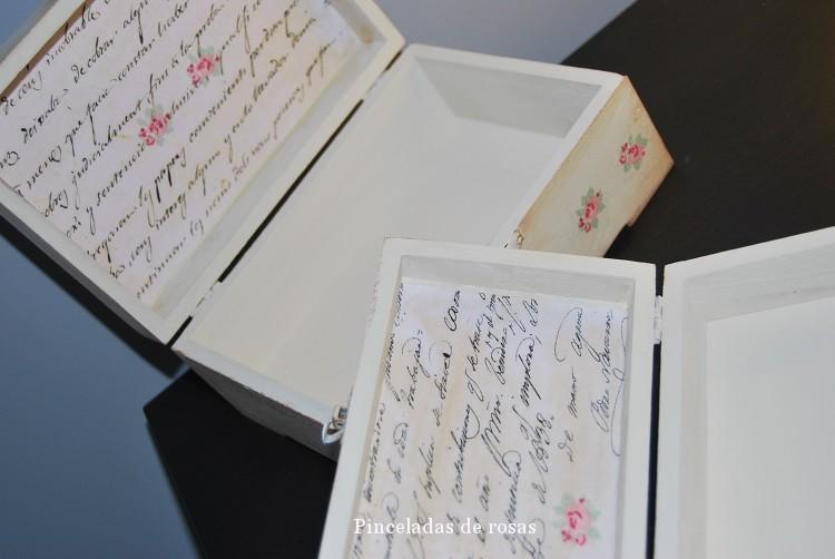 Cajas vintage decoracin, cajas madera decoradas